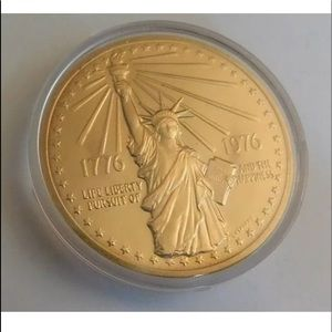 American Revolution Bicentennial Medal Coin.